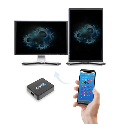 The digital display solution: the EasyDK player